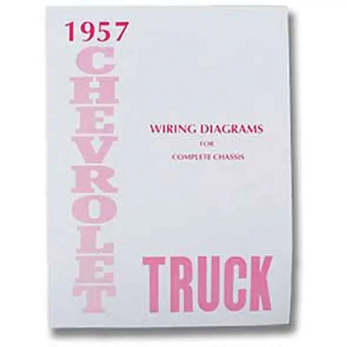 chevy truck wiring diagram manual 1957