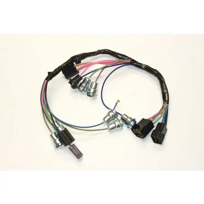 1964-66 Chevy Truck Dash Instrument Wiring Harness-With Gauges-Speed  Warning LightsEcklers