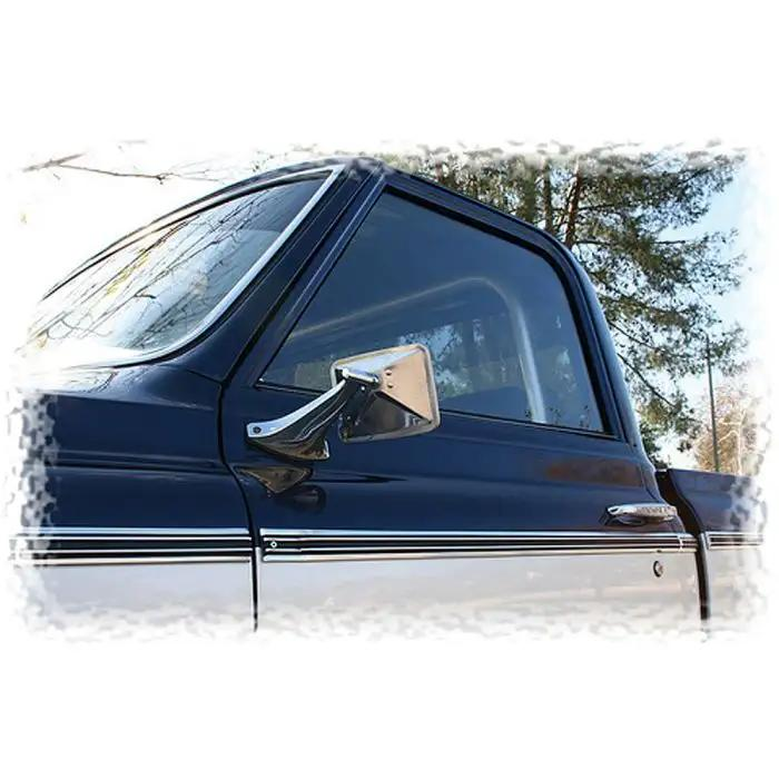 1967 72 Chevy Truck Vent Window Delete Kit Clear Glass