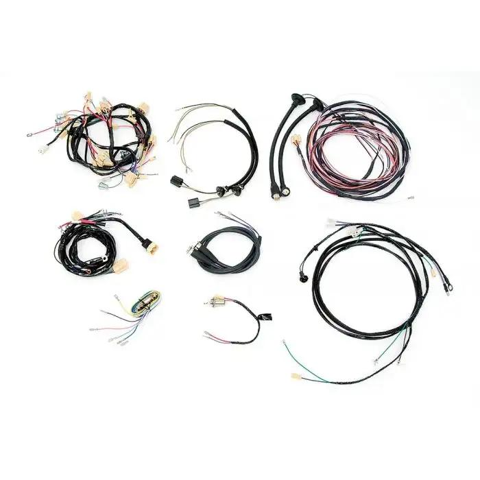 Chevy Wiring Harness Kit, Automatic Transmission, With Generator, V8, on generator ignition switches, generator meters, generator conduit, generator installation, generator outlet, generator gearbox, generator sizing, generator schematic, generator ventilation, generator fuel piping, generator solenoid, generator power, generator excitation theory, generator components, generator heater, generator earthing, generator battery, generator plugs, generator alternator,