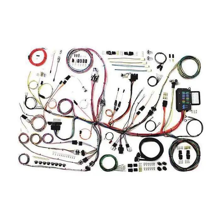 1958 corvette wiring harness 1953 1962 corvette wiring harness update assembly  1953 1962 corvette wiring harness