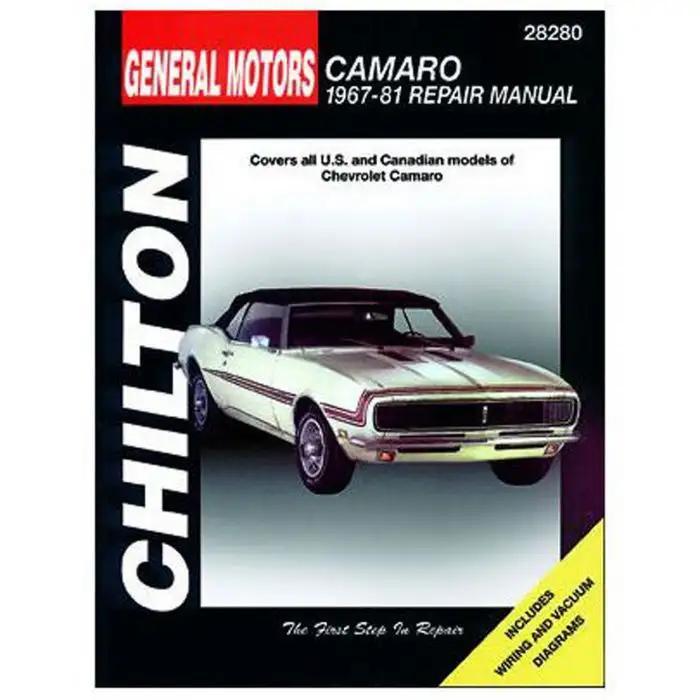 1973 Camaro Corvette Nova Impala Shop Service Repair Manual Engine Drivetrain OE