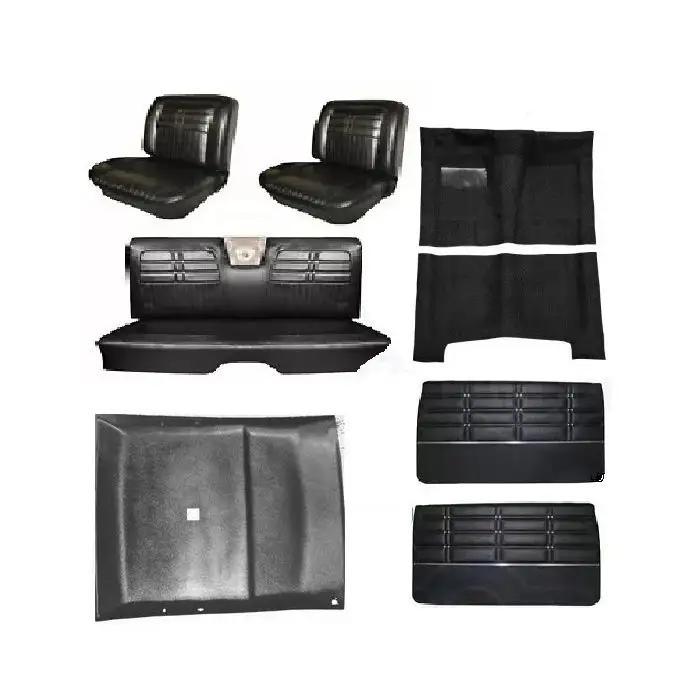 1963 Impala Ss 2 Door Hardtop Interior Kit Black W 4 Speed