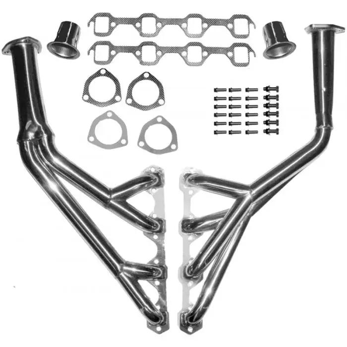 speedracingturbo exhaust header for TRI-Y 64-70 FORD MUSTANG 260//289//302 STAINLESS RACING MANIFOLD