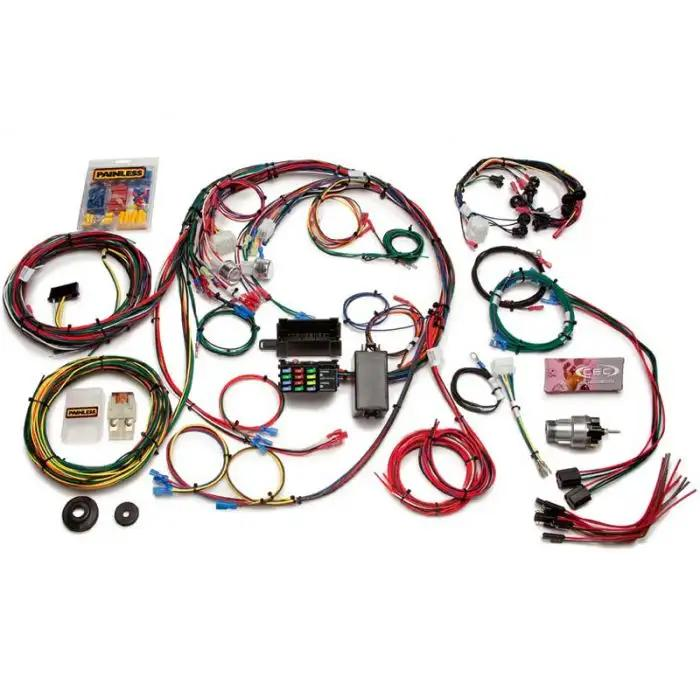 1967 1968 Mustang Complete Chassis Wiring Harness