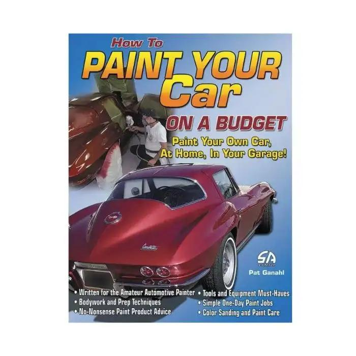 How to Paint Your Car - Softbound Book