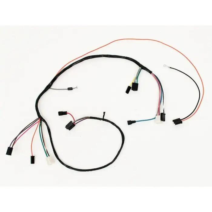 full size chevy air conditioning wiring harness  1963