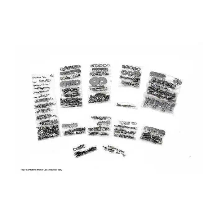 1965 Pontiac GTO master body bolt kit correct head marking on bolts