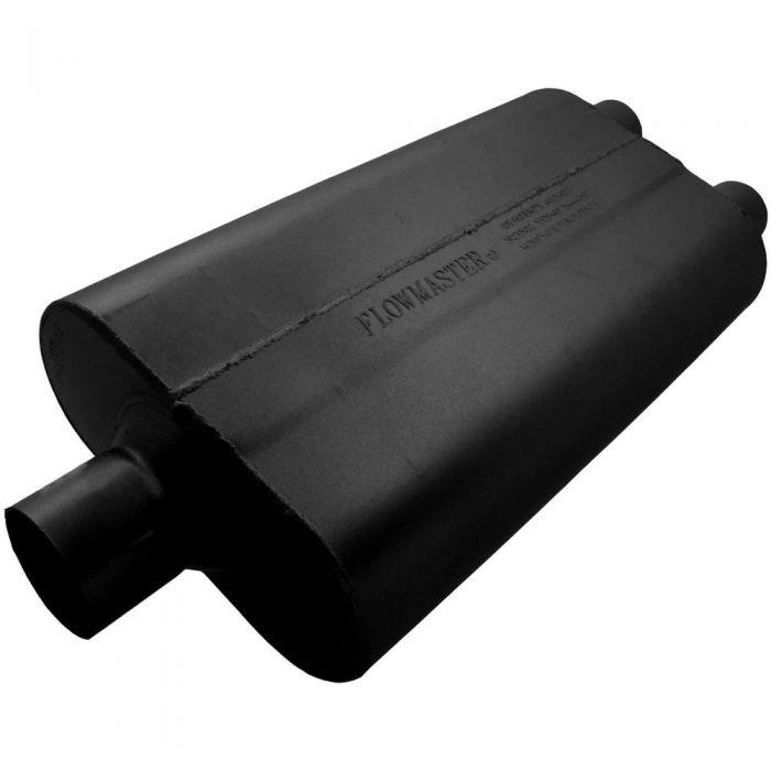 "SALE Flowmaster 50 Series Delta Flow Muffler 3/"" Center Inlet Center Outlet"