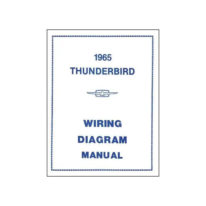 1965 Thunderbird Wiring Diagram Manual, 16 PagesMAC's Auto Parts