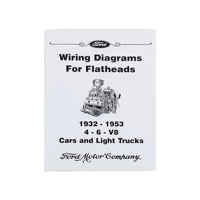 wiring diagrams for flatheads 193253 46v8  ford cars light trucks   10 pages