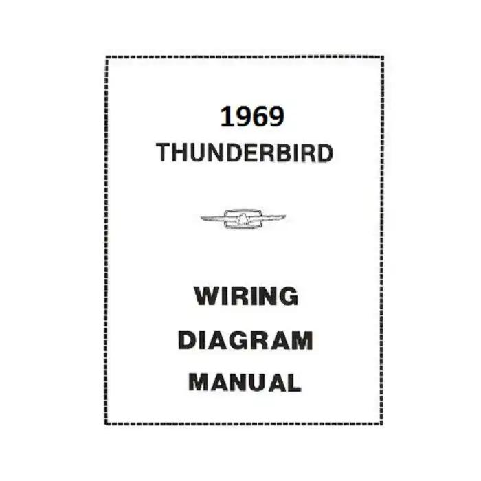 1969 Ford Thunderbird Wiring Diagram