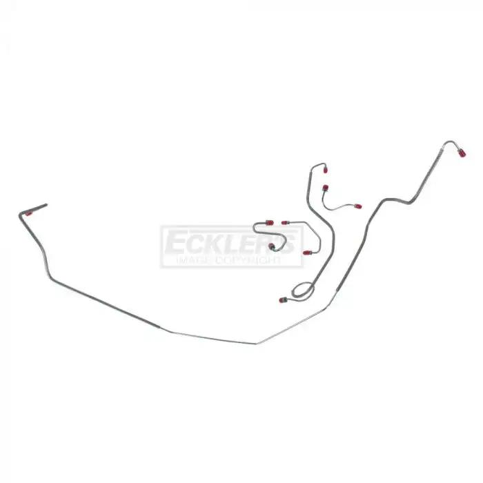 For Chevy Bel Air 1967-1968 Right Stuff Detailing Front to Rear Fuel Line