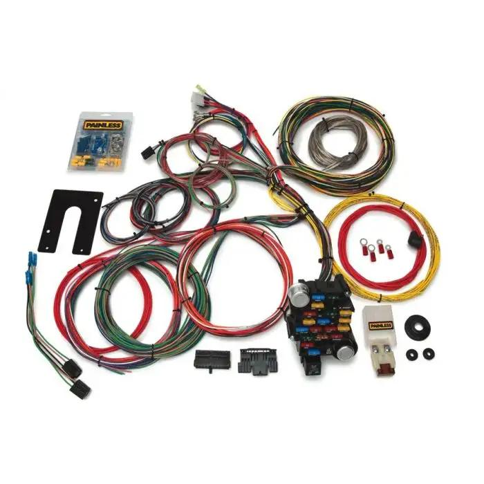 painless wiring harness 1966 potiac 28 circuit classic plus customizable chassis painless harness gm  chassis painless harness gm