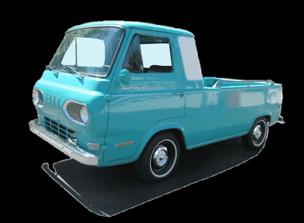 1965 Ford Parcel Delivery Series Vintage Truck Dealer Sales  Brochure