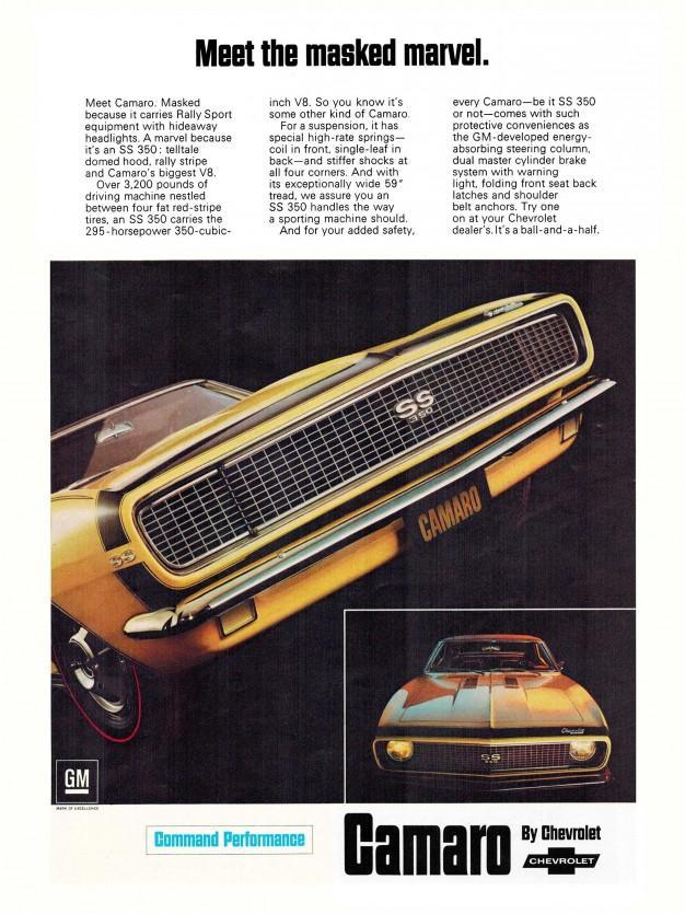 1967 Camao Ad
