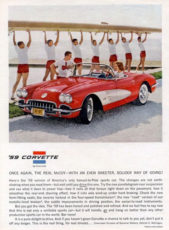 1959 Corvette Ad