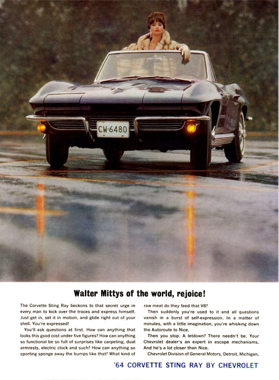 1964 Corvette Ad