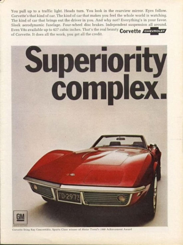 1968 Corvette Ad