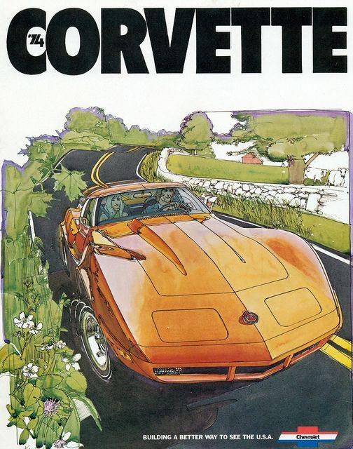 1974 Corvette Ad