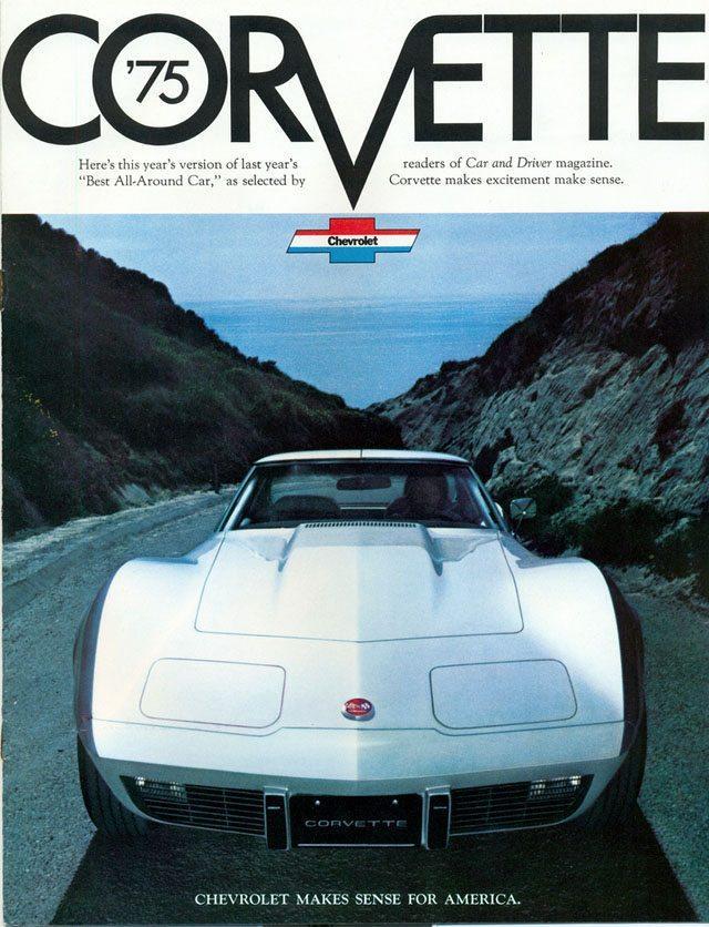 1975 Corvette Ad