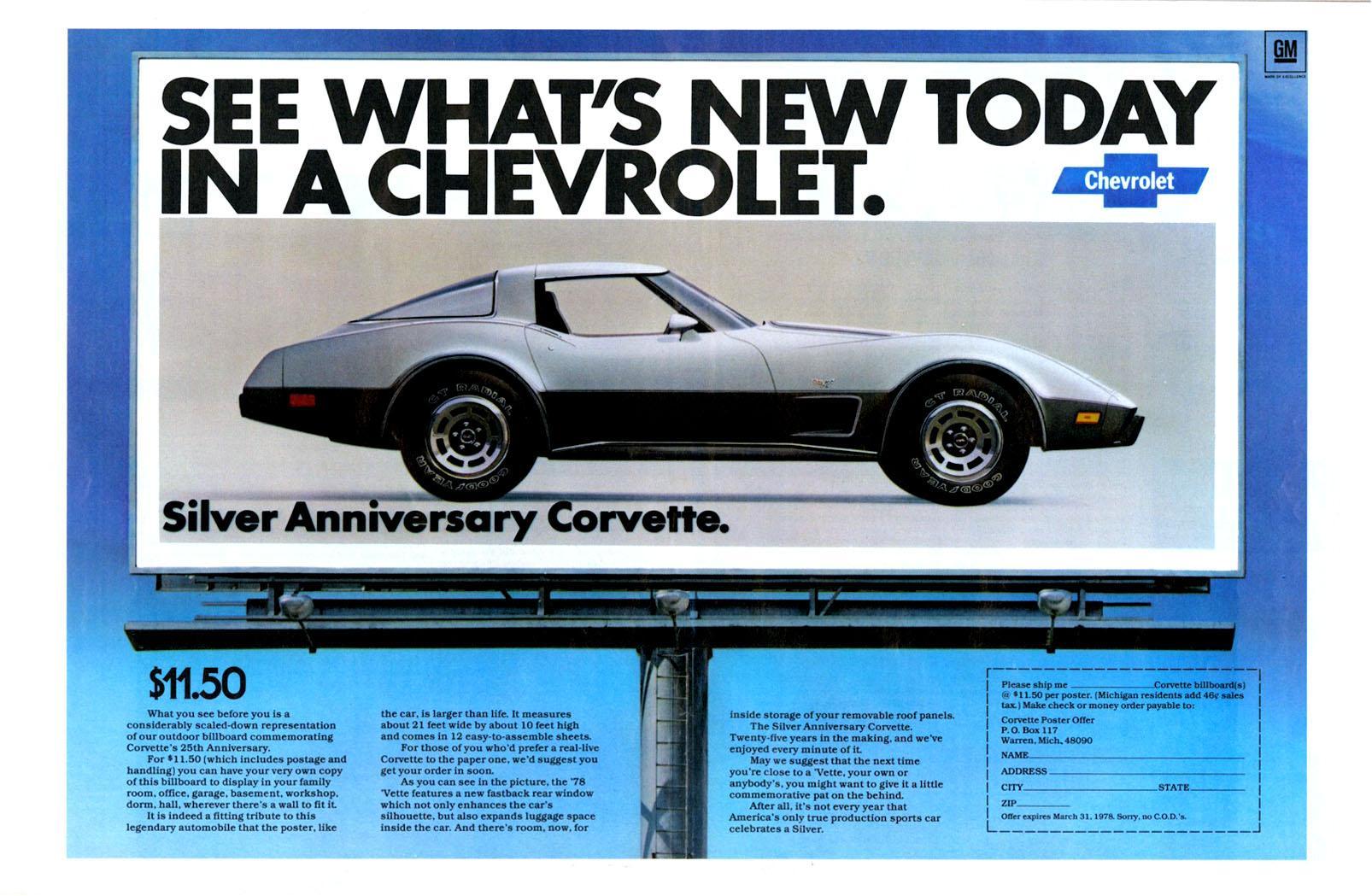 1980 Corvette Ad