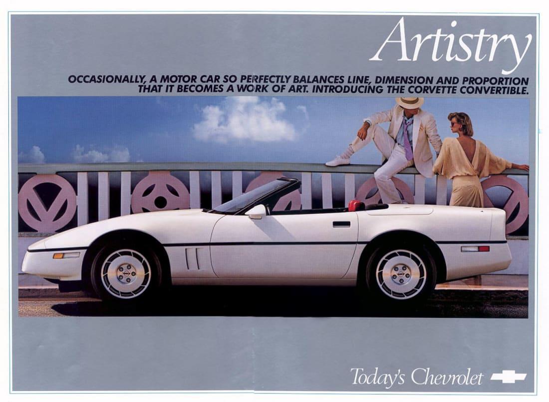 1986 Corvette Ad