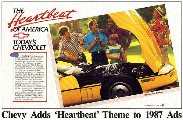 1987 Corvette Ad