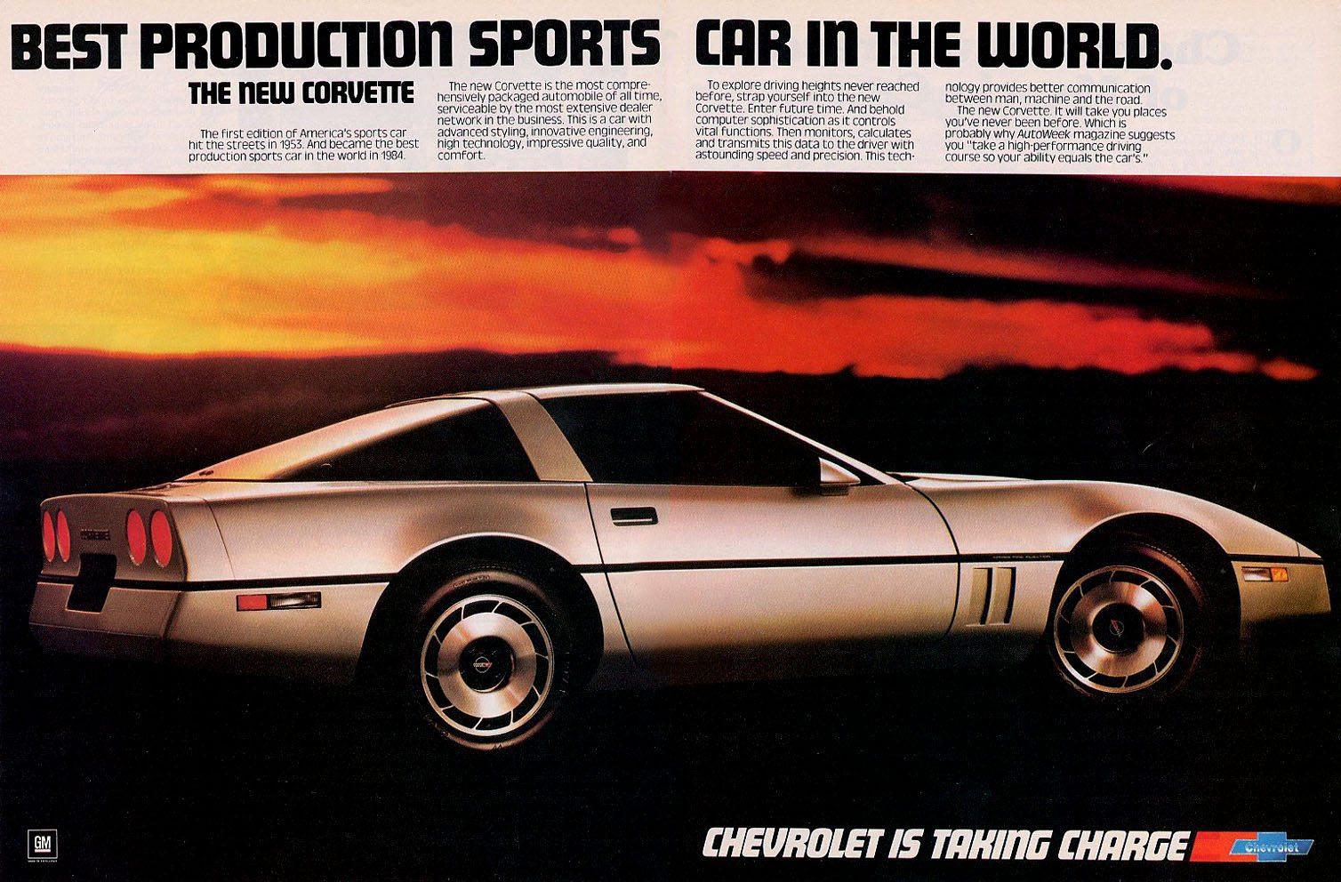 1988 Corvette Ad
