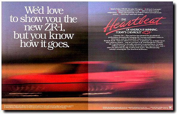 1990 Corvette Ad