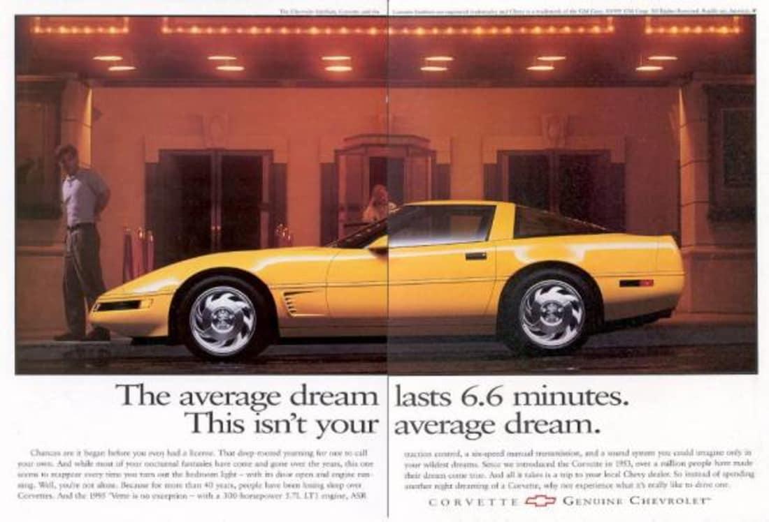 1995 Corvette Ad