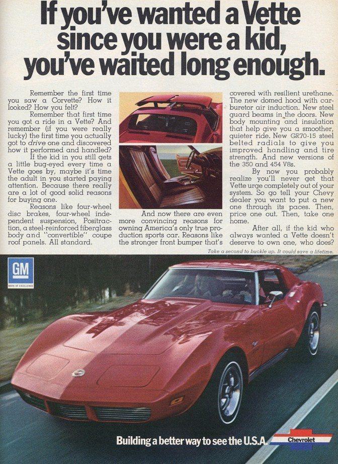 2000 Corvette Ad