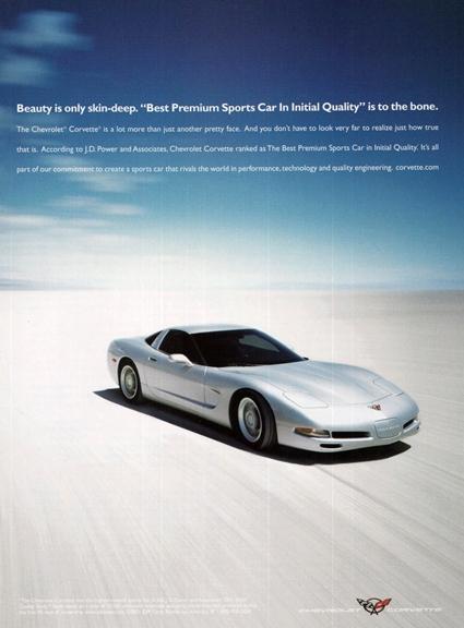 2001 Corvette Ad