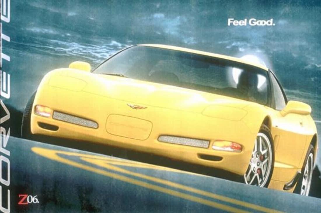 2002 Corvette Ad